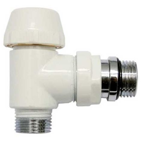 Corps Thermostatique Blanc Equerre M15/21