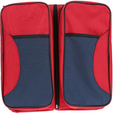 Corralito para bebé, cama paraguas plegable, 3 en 1 bolsa de bebé multiusos cuna para bebé capazo cuna portátil rojo ES