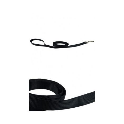 Correa nylon 25mmx120cm, negra