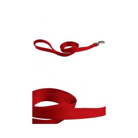 Correa nylon 25mmx120cm, roja