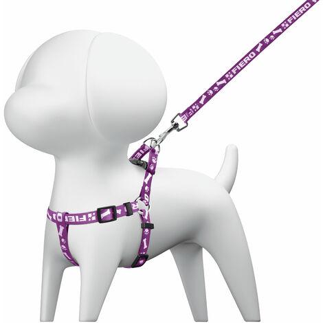 Correa para perro con pechera, 1 cm x 1.1m