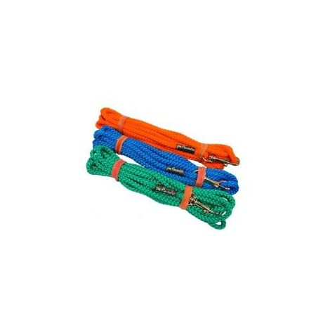 Correas Larga Resistente Adiestramiento Perros 5, 10 y 15 Metros Azul