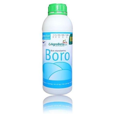 Corrector de carencias Boro Eco 5 L
