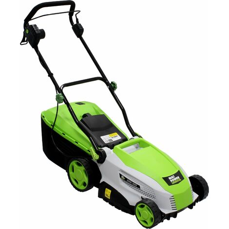 Cortacésped 1600w - 360 mm, 40 L, c/ADAPTADOR MULCHING - Mac Power