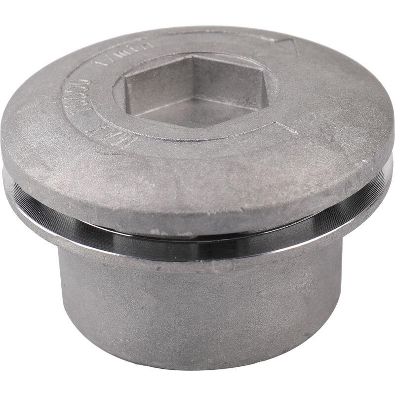Happyshopping - Cortacesped de aluminio universal liso cilindrico, accesorio para cortacesped, con 4 cuerdas de corte