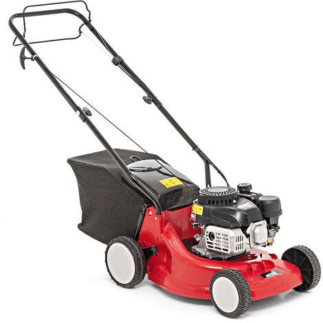 Cortacésped de gasolina MTD SMART 395 PO: MTD ThorX 35, 79 cc.