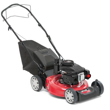 Cortacésped de gasolina MTD Smart 46 SPO. Motor MTD ThorX 35 de 99 cc.