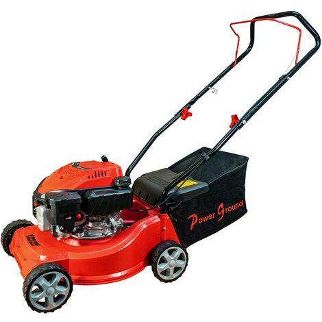 Cortacésped gasolina 127cc Powerground Prime Cut corte 40cm