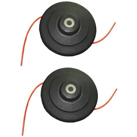 Cortador de Cepillo de Cabeza de Nylon de Alta Velocidad Con 5m Línea x2