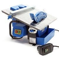 Cortadora azulejos eléctrica 600W Corte húmedo Grosor baldosa 34mm Gres Cerámica Losetas Herramienta