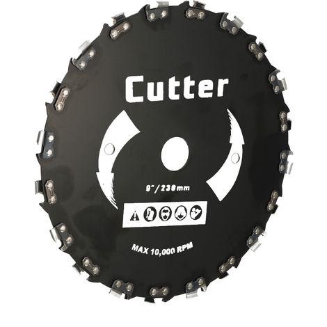 """Cortadora de cesped, sierra circular, 9 """"230 mm 20 dientes"""