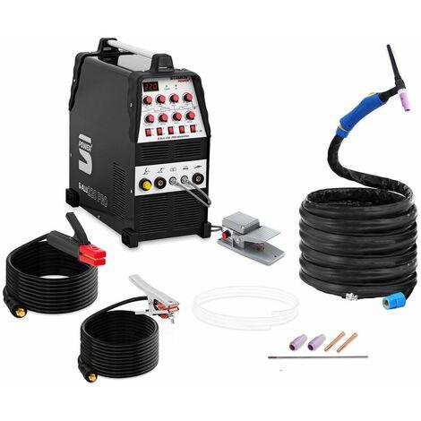 Cortadora de plasma con compresor - 40 A - ciclo de trabajo 60 % - digital - 230 V