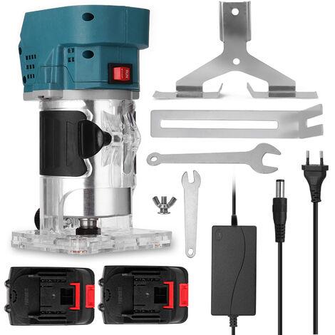 Cortadora electrica multifuncional para carpinteria, maquina fresadora electromecanica de madera, grabado y ranurado