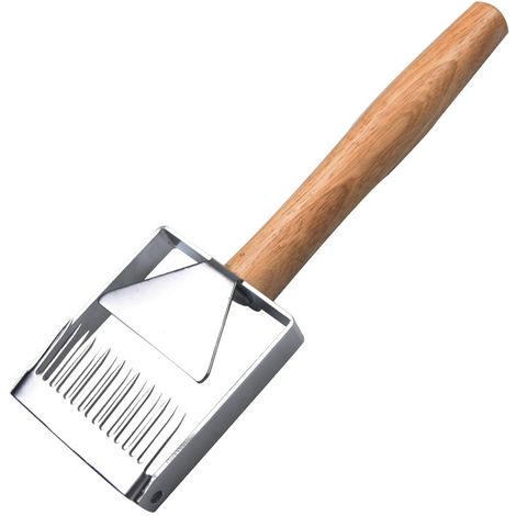 Cortar el tenedor de miel, barb cortar el cuchillo de miel cortar el rastrillo de miel