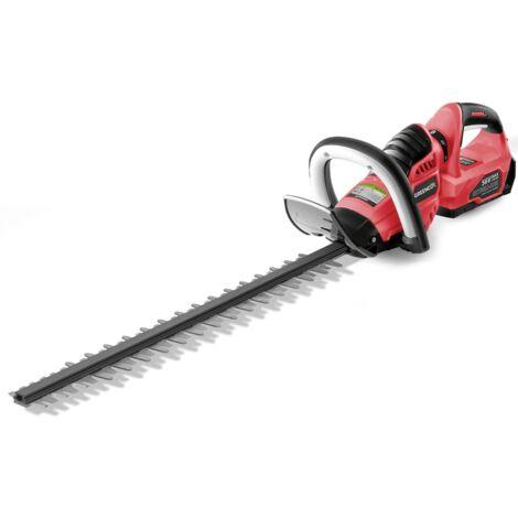 """main image of """"Cortasetos inalámbrico GHT560L 56V MAX sin batería ni cargador, cuchilla giratoria 65cm, dientes 27mm cortador setos matorrales recargable - GREENCUT"""""""