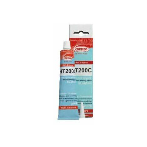 CORTECO HT200C pâte à joint silicone blanc +200° 80ml