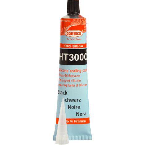 CORTECO HT300C pâte à joint silicone noir +300° 80ml