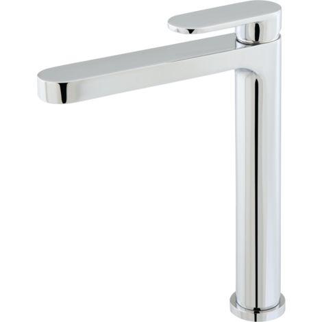Cortes mitigeur lavabo haut chromé - Chromé