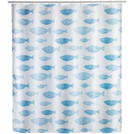 Cortina de baño anti-moho Aquamarin