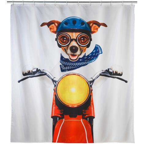 Cortina de ducha Biker Dog WENKO