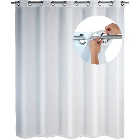 Cortina de ducha Comfort Flex blanca WENKO