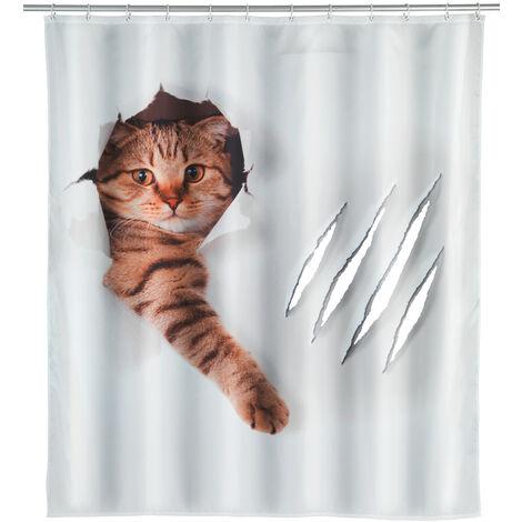 Cortina de ducha Cute Cat