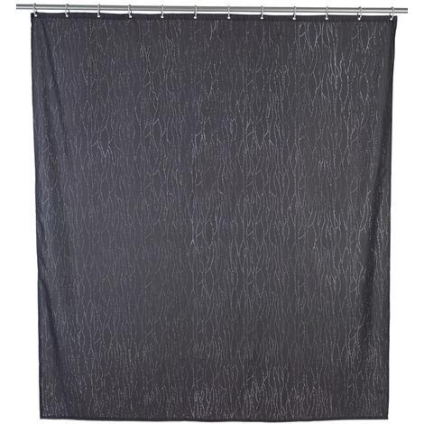 Cortina de ducha Deluxe gris WENKO
