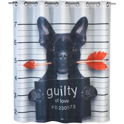 Cortina de ducha Guilty Dog Flex Antimoho WENKO