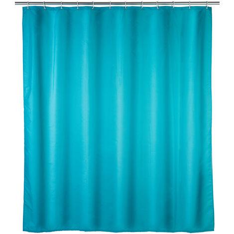 Cortina de ducha Unicolor Azul claro Antimoho WENKO