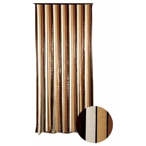 Cortina de puerta Capri CONFORTEX - 90 x 200 cm - marrón beige - Marron