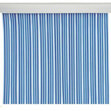 Cortina de puerta de cintas azul
