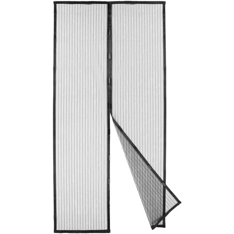 Cortina de puerta de pantalla magnetica resistente KKmoon, mosquitera de pantalla