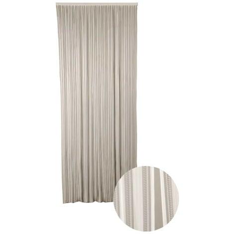Cortina de puerta Lumina CONFORTEX - 90 x 220 cm - Blanco - Blanc
