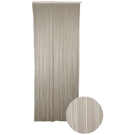 Cortina de puerta Lumina CONFORTEX - 90 x 220 cm - Cristal