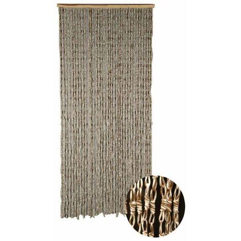 Cortina de puerta Maïs Capuccino CONFORTEX para puerta - 90 x 200 cm - marrón beige - Marron