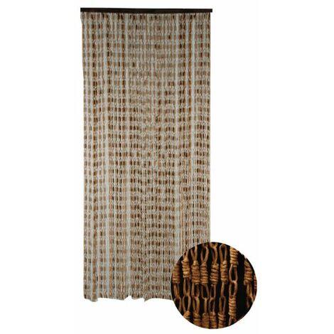 Cortina de puerta Maïs Yaounde CONFORTEX para puerta - 90 x 200 cm - marrón - Marron
