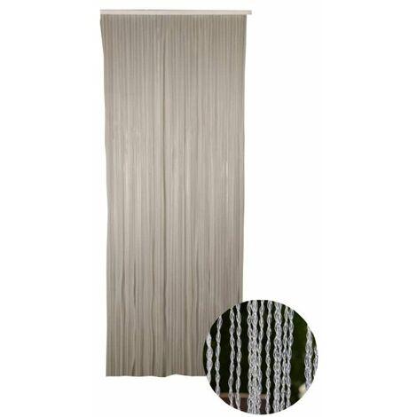 Cortina de puerta Twist CONFORTEX para puerta - 90 x 200 cm - Cristal - Transparent