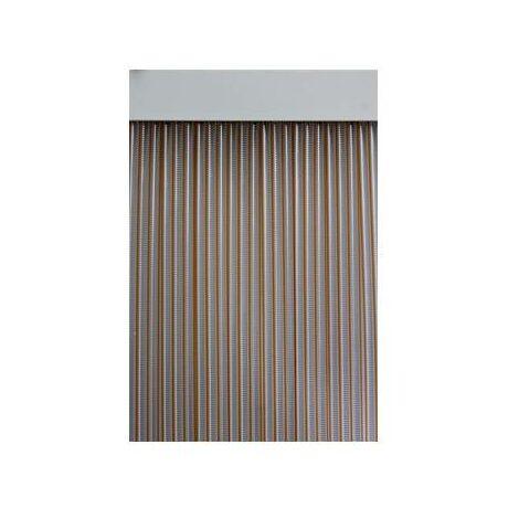 Cortina de PVC para puerta Duero Color MIEL