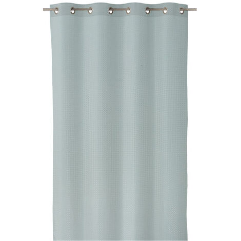 Cortina de salón verde minimalista de poliéster de 260x140 cm