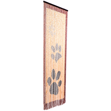 Cortina madera para puerta Cats Catral