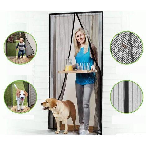 Cortina magnética anti-mosquitos / Mosquitera con imanes