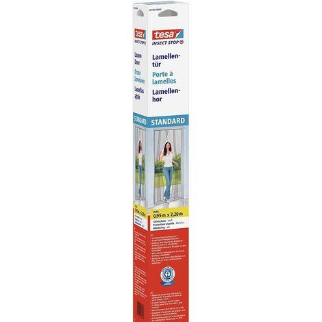 Cortina mosquitera Standard blanca 2,2m x 0,95m Tesa
