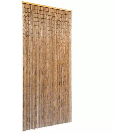 Cortina para puerta 90x200 cm bambu