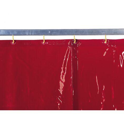 Cortina para soldadura color naranja - EN 1598 & ISO EN 25980 (ref. 1615_) (medida alto x ancho)
