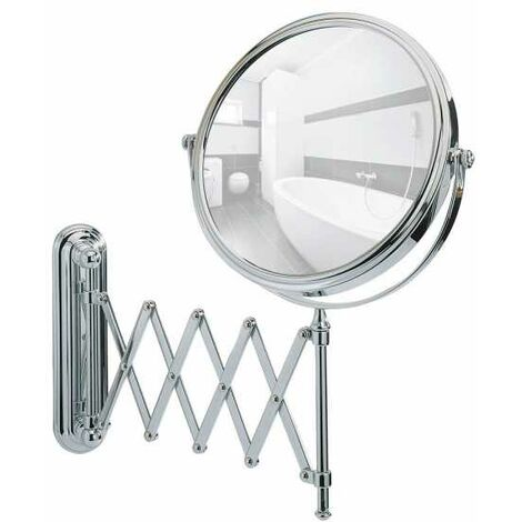 Wall-mounted cosmetic mirror Telescope Deluxe WENKO