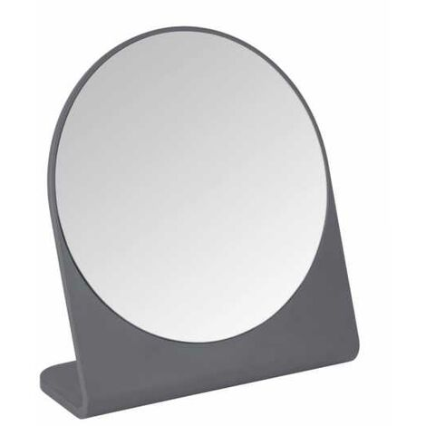 Cosmetic mirror Marcon anthracite WENKO