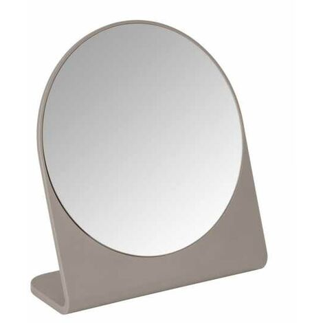 Cosmetic mirror Marcon taupe WENKO