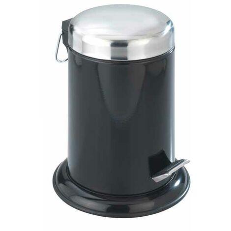 Cosmetic pedal bin Retoro Black WENKO