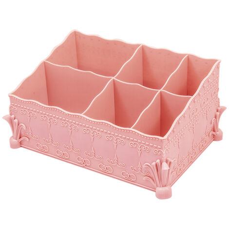 Cosmetic storage box pink cosmetic storage box