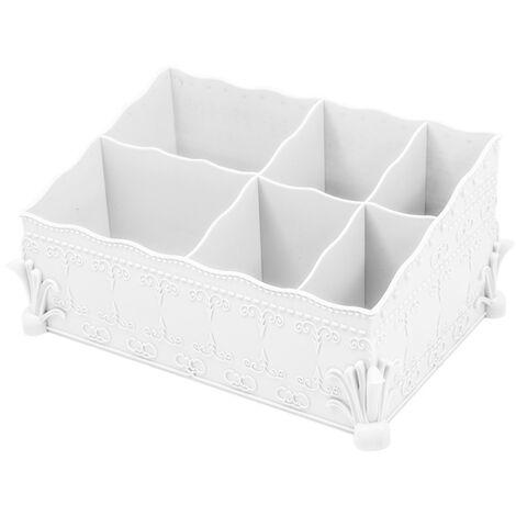 Cosmetic storage box white cosmetic storage box